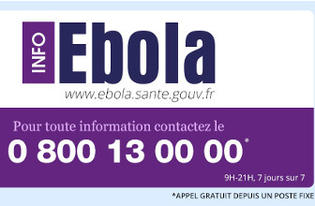 Ebola : le Gouvernement met en place un dispositif d'information